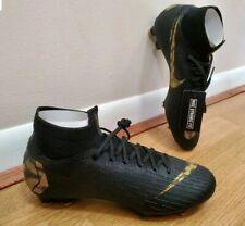 Nike Mercurial Superfly 6 Elite Fg Soccer Ah7365-077 Black Lux Vivid Gold Sz 12