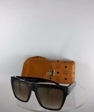 Brand New Authentic MCM Sunglasses MCM601SA 214 55mm Drak Havana Tortoise Frame