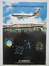 7/80 PUB THOMSON CSF AVIONIC AIRBUS A310 ELECTRONIC FLIGHT INSTRUMENT SYSTEM AD