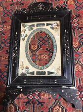 Gorgeous 19th Century Victorian Aesthetic Eastlake Ebonized Picture Frame