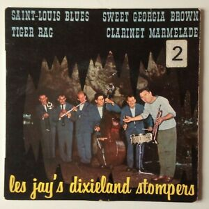 DISQUE 45T LES JAY'S DIXIELAND STOMPERS