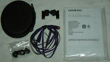 Onkyo IE-FC300(V) In-Ear Headphones Violet FC300 IEM Earphones Earbuds