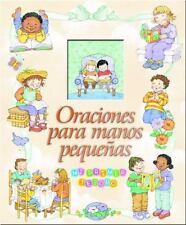 Oraciones Para Manos Pequenas (Spanish Edition)-ExLibrary