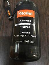 ROLLEI Kamera Travel Reinigungsset Schwarz NEU / OVP