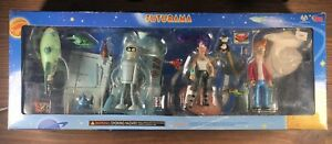 Futurama Collect-O-Pak Action Figure 4 pack Tower Records Exclusive 2001