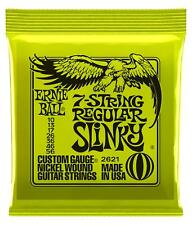Ernie Ball 2621 Regular Slinky 7-String E-Gitarre Satz Saiten Strings 7-Saiter