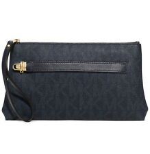 Michael Kors Charlton Medium Wristlet PVC Baltic Blue- New With Tages - $98