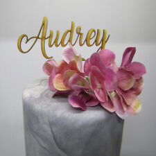 Laser Cut Wooden Cake Topper - You Name Birthday Cake Topper