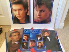 Vintage Duran Duran poster 6 posters all 5 band members individual set pack 80s