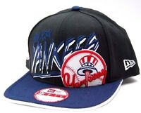 New York Yankees New Era 9Fifty Graffiti Wordmark  MLB Baseball Snapback Cap Hat