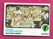 1973 TOPPS # 175  ANGELS FRANK ROBINSON EX CARD (INV# A8109)