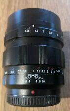 Voigtlander Nokton 42.5 42.5mm F/0.95 MFT best fastest lens