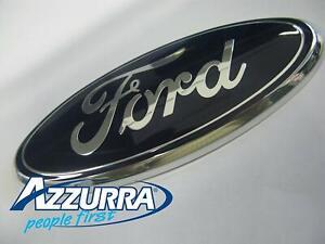 2038573 - Fregio stemma anteriore logo emblema originale Ford mm 175x70