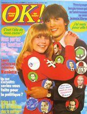 OK Age Tendre n°113 - 1978 - Nicoletta - Jane Birkin - Nadine Expert -