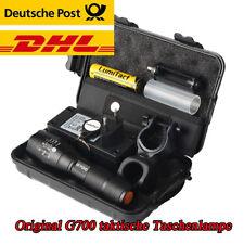 10000lm echte Lumitact G700 Polizei Taschenlampe L2 LED Zoom Militär Fackel