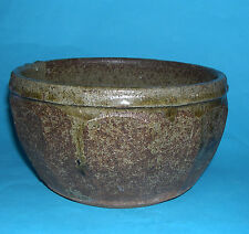 Bernard Leach St.Ives Pottery - Early Stoneware Multi Facet Bowl - Potters Marks