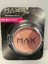 MAX FACTOR COLORGENIUS  BLUSH NEW MINERAL BLUSH ~ #100 Roses