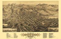 Butte Montana - Stoner 1884 - 23.00 x 35.34