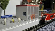 moderner Bahnhof |  Spur N  | 1:160 | Bausatz
