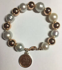 South Sea Pearl Rose Gold Bracelet