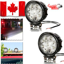 "2PCS 4"" Spot 54W Round LED WORK LIGHT BAR OFFROAD SUV 4WD DRIVING LAMP 12V 24V"