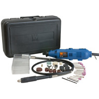 Variable Speed Tool Kit 80-Piece Accessories Rotary Grinder Cutter