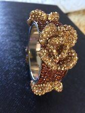 encrusted bangle Flower crystal