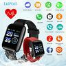 Smart Watch Bluetooth Heart Rate Oxygen Blood Pressure Sport Fitness Tracker
