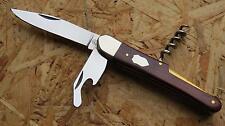 Hartkopf Taschenmesser Messer Rotholz Stahl 1.4034 330110 Neu
