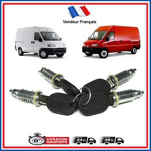 X4 Barillets / Serrures Peugeot BOXER Fiat DUCATO Citroen JUMPER