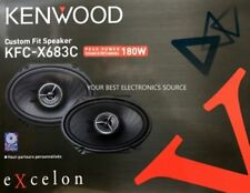 "NEW Kenwood KFC-X683C eXcelon Series 6""x8"" Car Audio Speakers (1PAIR)"