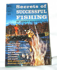 Secrets of Successful Fishing by Henry Shakespeare - Dell M102 (1966) - VG