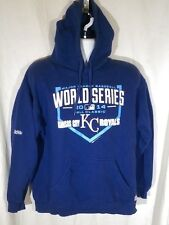 Kansas City Royals 2014 World Series Fall Classic Hoodie Men's Large EUC (7)
