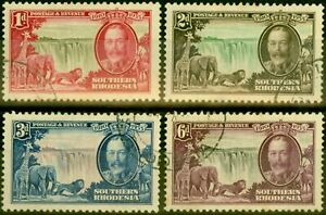Southern Rhodesia 1935 Jubilee Set of 4 SG31-34 Very Fine Used