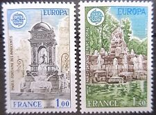 France 1978 Europa Set (Fountains). MNH.