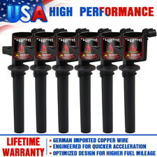 6Pcs Ignition Coils For Ford Escape Mazda Mercury 3.0L V6 DG500 FD502 2001-2007