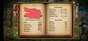 Global Summoners Account with 71 6* Tian Lang(rare),Seara,Hathor,Rakan,Triton