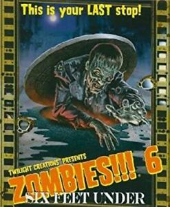 Twilight Creations Boardgame Zombies!!! 6 - Six Feet Under (2nd Ed) SW