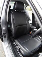 CITROEN C4 CAR SEAT COVERS BLACK LEATHERETTE BESPOKE MADE TO MEASURE