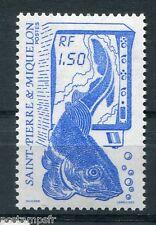 ST-PIERRE-et-MIQUELON, 1987, timbre 481, POISSON, LA PECHE, neuf**