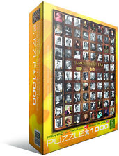 Famous Writers 1000 Piece Jigsaw Puzzle by Eurographics Classic Literature Books