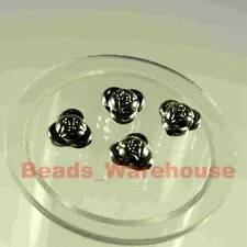 WHOLESALE * ROSE FLOWER (B) 11mm x 110pcs CCB Spacer Beads