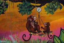 554053 Puzzled Monkeys A4 Photo Texture Print