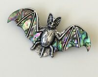 Unique vintage style  Bat Brooch  & pendant