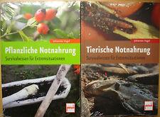 TIERISCHE PFLANZLICHE NOTNAHRUNG Survivalwissen �œberleben Ernährung Natur Buch