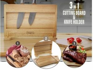 Prosumer's Choice Meat Vegetable Cutting Boards With Built-in Holder Gift