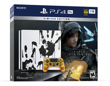 Sony PlayStation 4 Pro 1TB Console with Death Stranding Video Game Bundle