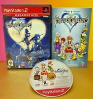 Playstation 2 PS2 Kingdom Hearts Disney RPG Game Complete NR Mint Disc