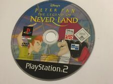 SONY PS2 PLAYSTATION 2 Game Disc CD seulement PETER PAN La Légende De Never Land PAL