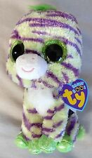 WILD  The Zebra - RETIRED - (6 inch) Ty Beanie Boo - NEW with tags